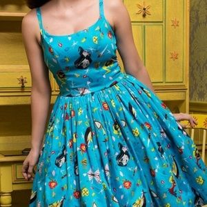 Brand new pinup couture snow white Jenny dress